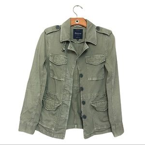 Madewell Outbound Military Olive Jacket Size XS